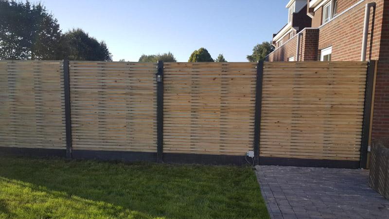 Goedkope Schutting Ideeen : Hout beton schutting standaard de schuttingbouwer